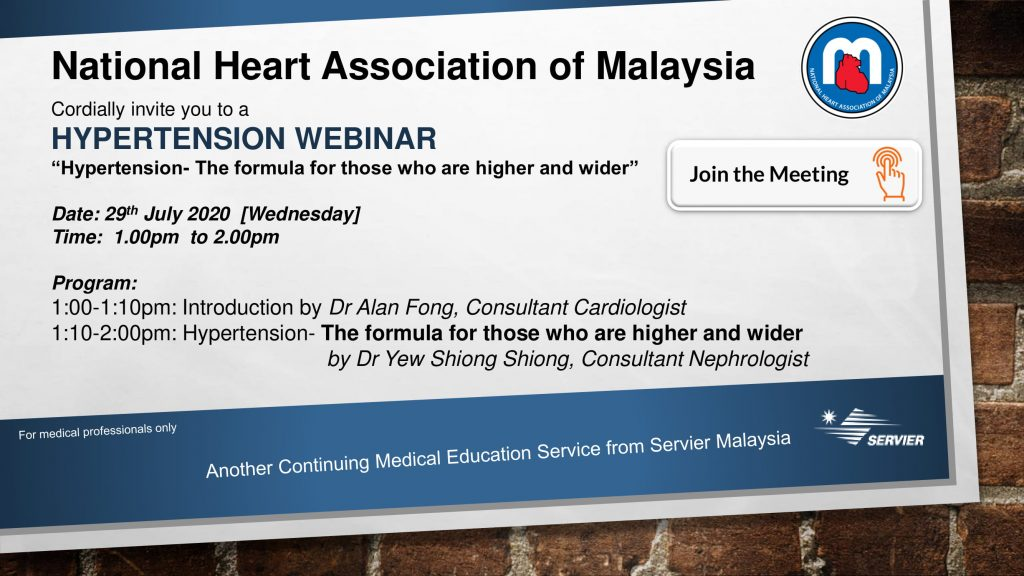 Hypertension Webinar