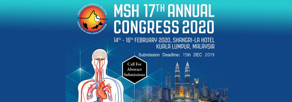 Call for Abstract Submissions for MSH Annual Congress 2020